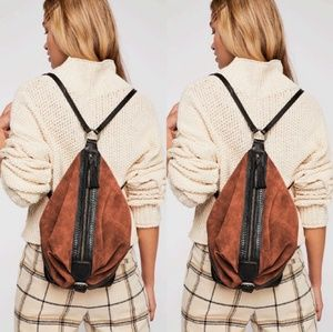 Free People Serena leather backpack